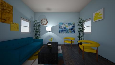 asym - Living room  - by pyraam_
