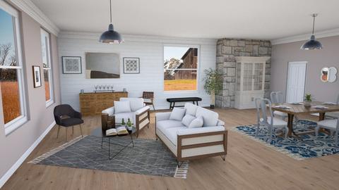 Artisan Flooring Template - Rustic - Living room  - by laurenpoisner