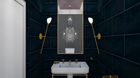 1920s Gilt - Bathroom - by babbjiii