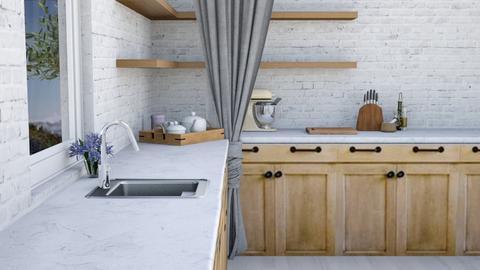 Farmhouse - Kitchen  - by yellowAri