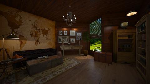 travel themed living - by Spencer Reid