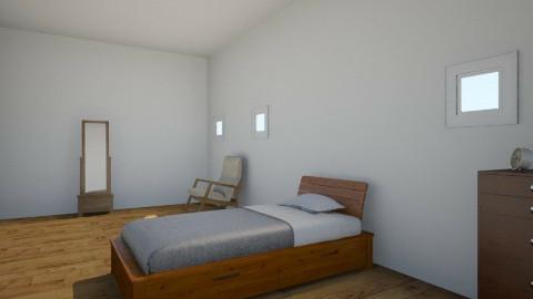 Poor Girls Room - Vintage - Bedroom  - by Reaghan Wiley