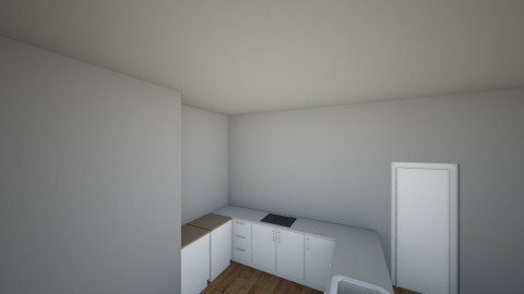 Apartment - Minimal - Kitchen  - by lmholliday