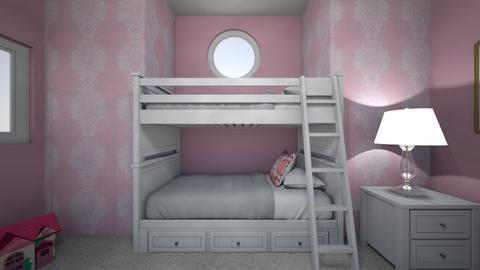 12 year old Pink room - Kids room  - by morgandean13