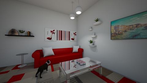 Living Room - Modern - Living room  - by kniyaaa