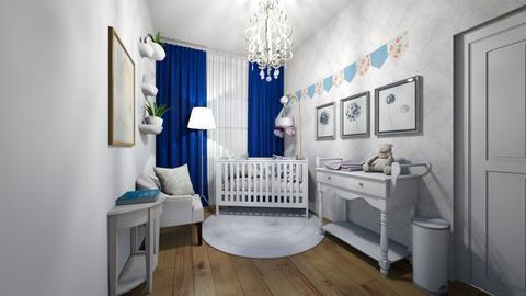 Detsky pokoj miminko - Kids room  - by HanaDocekalova