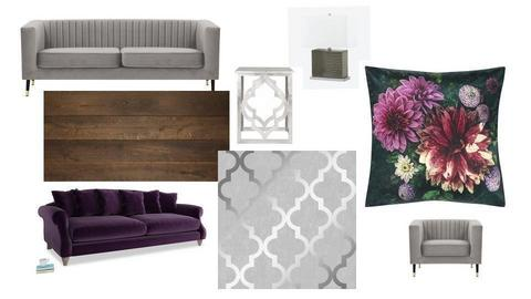 Lounge Mood Board - by sianie2004