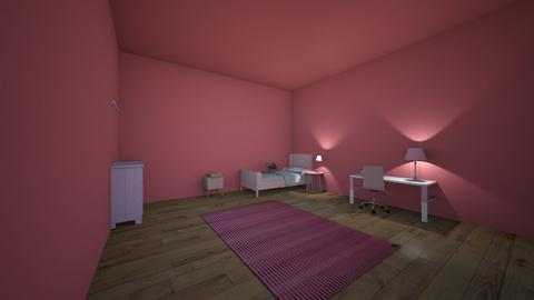 pink room - Kids room - by designgirl22