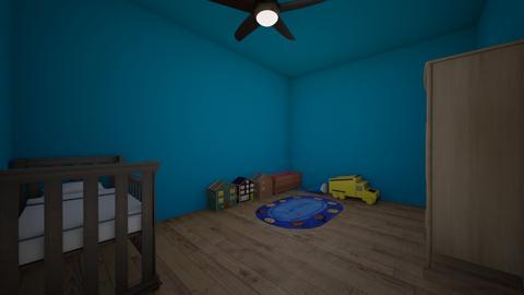 Blue baby room - Bedroom  - by CheekyDD