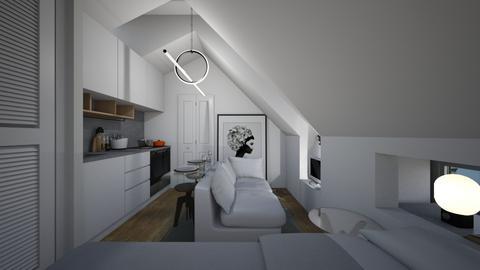 Casa389LivingArea - Modern - Living room - by nickynunes