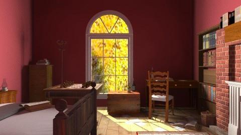 Sherlock - Classic - Bedroom  - by itshollyhi