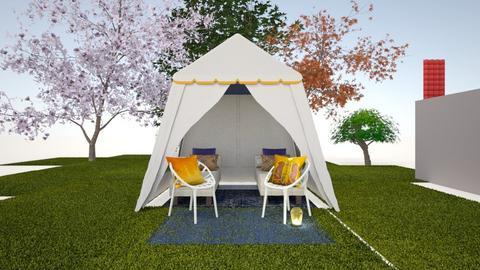 tent - by NancyGF
