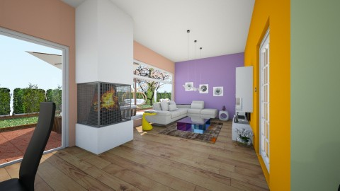 first experience1 - Living room  - by sweet_sisit0o