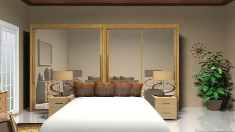 light wood - Minimal - Bedroom - by faar70