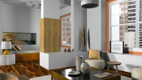 BG studio - Modern - Living room  - by liling
