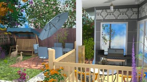 Gardener's yard - Classic - Garden  - by Bibiche