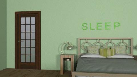 green - Vintage - Bedroom  - by jasperhale