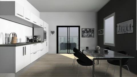 asdfghjk - Modern - Kitchen - by anagomes