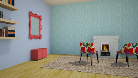 wow - Living room - by vicky18