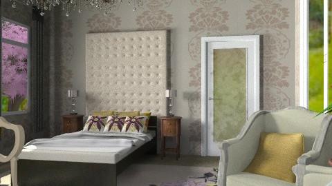 Elegant Slumber - Classic - Bedroom  - by natural11