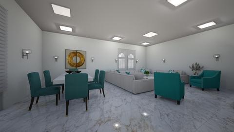 gsfd - Living room  - by ilinastamkova