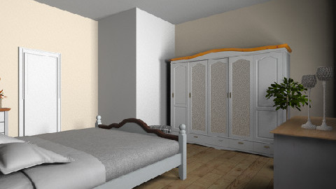 Wales Schlafzimmer print - Country - Bedroom  - by TV Renders