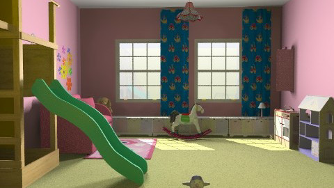 játszószoba - Classic - Kids room  - by Audrey17