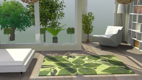 bedroom - Minimal - Bedroom  - by titania