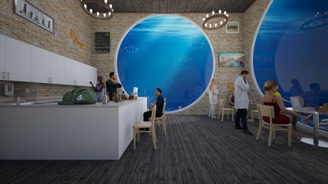 Underwater Cafe - Global - by Han Jisung