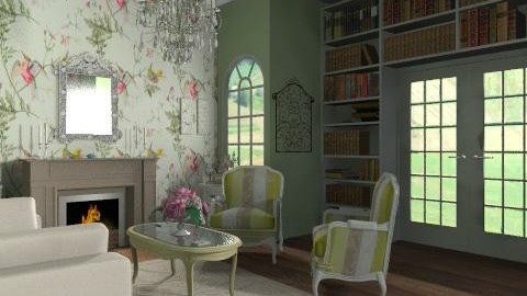 french inspired! - Country - Living room  - by yasemin04