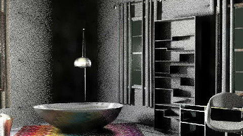 Coolest studio on earth - Rustic - Bedroom  - by Sean Wu