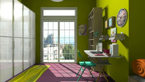 green - Glamour - Bedroom  - by Gabriella Aloia