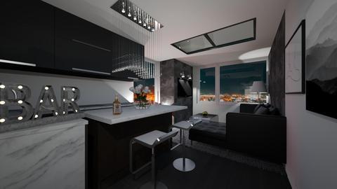 House Bar - Modern - Living room - by Mesehabbal