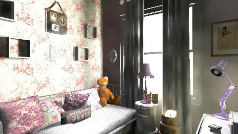 Elizas Room - Classic - Bedroom - by Jek Pulido