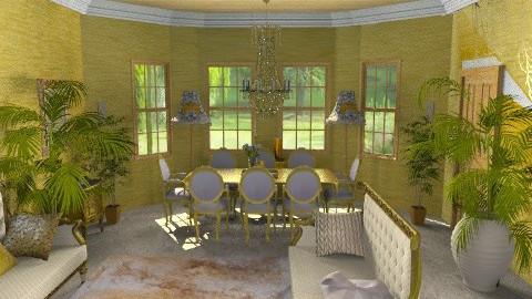 dorata/e - Retro - Dining room  - by catcarla