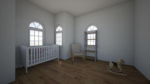 simple babys room - Minimal - Kids room  - by regannlynn23