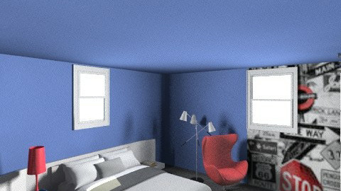 sashas room final side - Minimal - Kids room  - by kimrobb