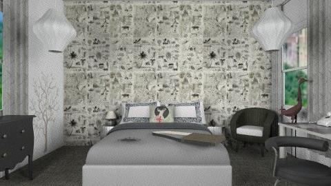 creacion - Retro - Bedroom  - by bluevioletspoprock