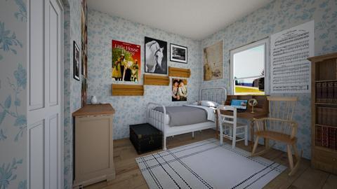 Little House Inspired - Bedroom  - by SammyJPili