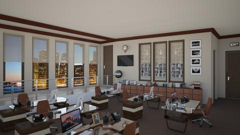 Gideon y Hotchner - Eclectic - Office  - by deleted_1574768015_Elenn