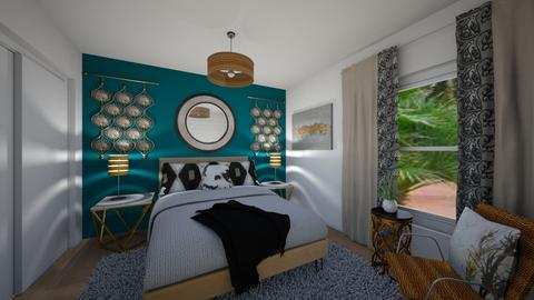 SPARE BEDROOM2b - Eclectic - by MichelleRamage