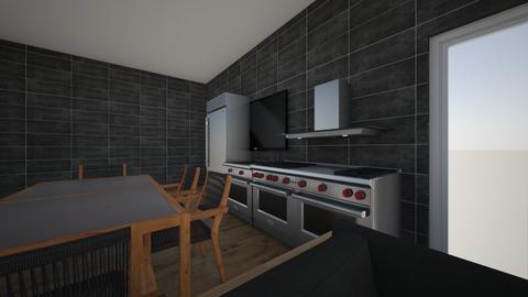 my kitchcn - Kitchen  - by ajwigley