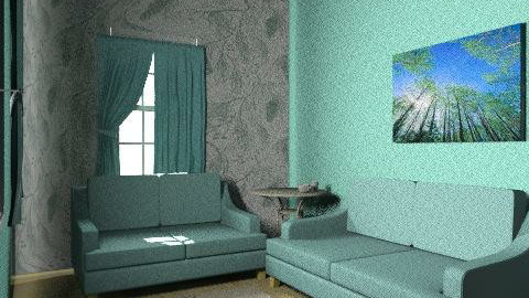 living room #2 - Country - Living room  - by caseeyx