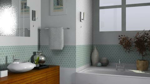 FL Bungalow - Ensuite 2 - Classic - Bathroom  - by LizyD