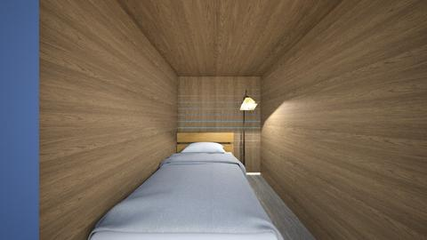 Tiny Beach Shack - Bedroom  - by SammyJPili