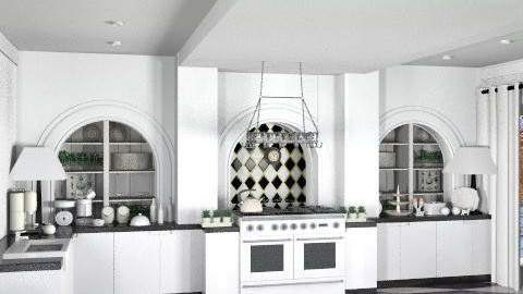 Cotswold Barn: kitchen. - Country - Kitchen  - by ATOMIUM