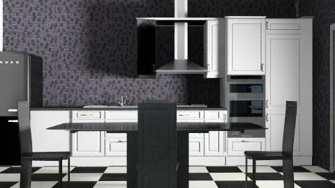kitchenbrown3 - Retro - Kitchen  - by Gulland