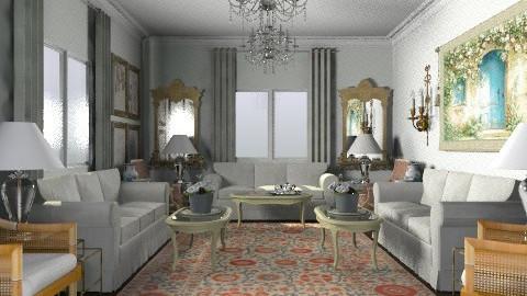Haifa 2 - Classic - Living room  - by AlSudairy S