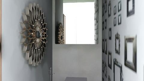 wc - Minimal - Bathroom - by Maleli