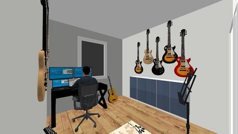 Muziekhok 9 - Modern - Office  - by Winmau
